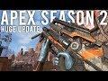 Apex Legends Season 2 Update Is Huge ( Alternator OP )