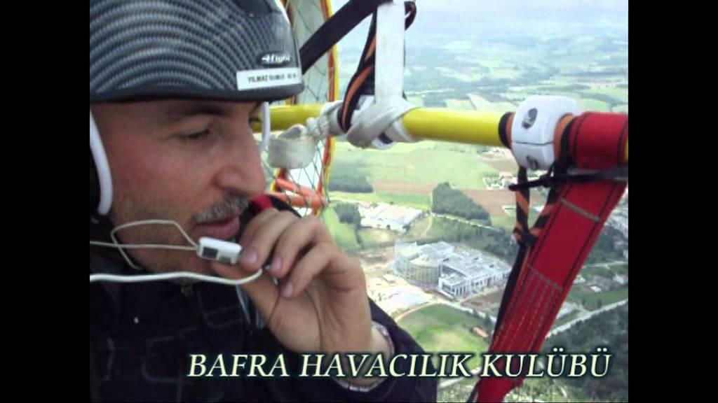 Bafra Havacılık Kulübünün Bafra'ya armağanı