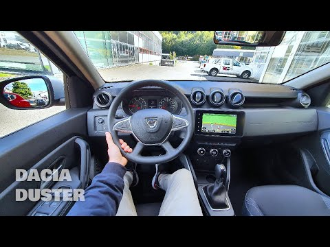 New Dacia Duster 2022 Automatic Test Drive POV