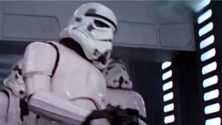Star Wars Actor Explains Stormtrooper Head-Banging Blooper