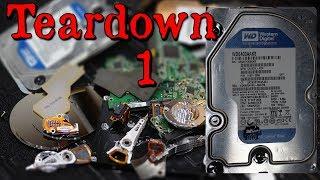 Hard Drive Teardown Comparison Part 1 - Western Digital 640 GB Caviar Blue