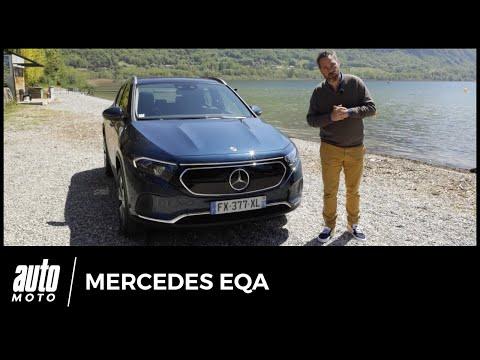 Essai Mercedes EQA : notre avis au volant