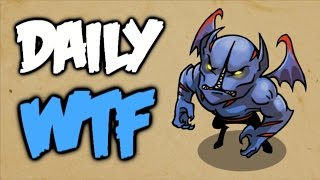 Dota 2 Daily WTF - How to train your Nightstalker