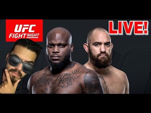 FIGHT TIME! Derrick Lewis vs Travis Browne UFC Fight Night