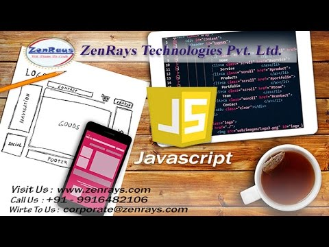JavaScript Tutorial for beginners in Bangalore at Zenrays