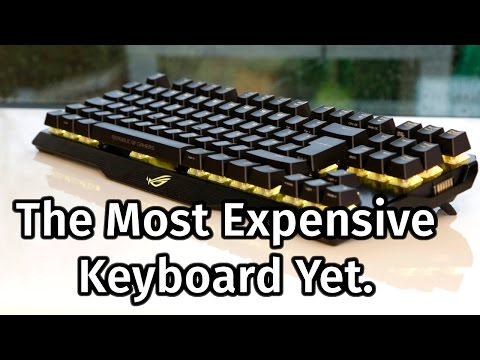 Asus ROG Claymore Review – The £200 Keyboard!