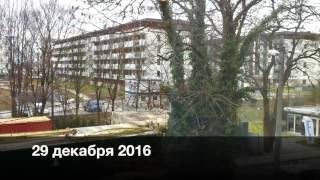 #552 Стройка под окном в Польше. Как быстро строят?