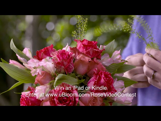 How to Arrange Flowers Rose Wedding Bouquets!