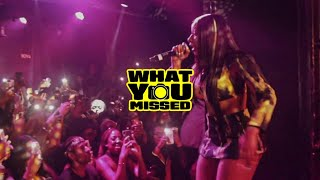 Megan Thee Stallion Performs 'Realer' In London Live For The First Time @XOYO