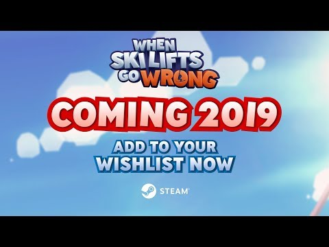 When Ski Lifts Go Wrong on Steam and Nintendo Switch - Official Announcement Trailer thumbnail