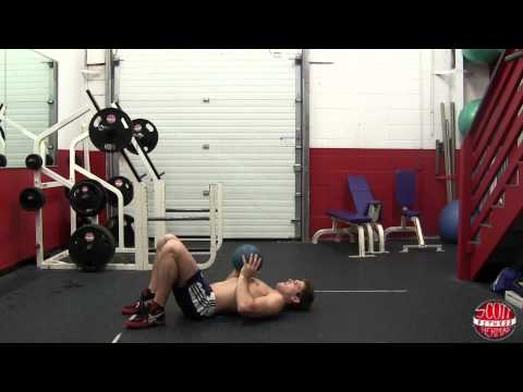 How To: Supine Medicine Ball Chest Throw