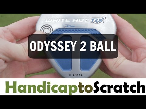 Odyssey White Hot RX 2 Ball V-Line Putter Review