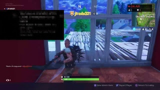 Fortnite battle royale duo late night stream