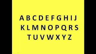 Learn German Easily - Alphabet