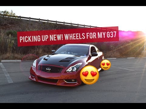 PICKED UP NEW! WHEELS FOR MY G37