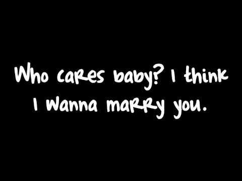 , title : 'Bruno Mars - Marry You (Lyrics) HD'