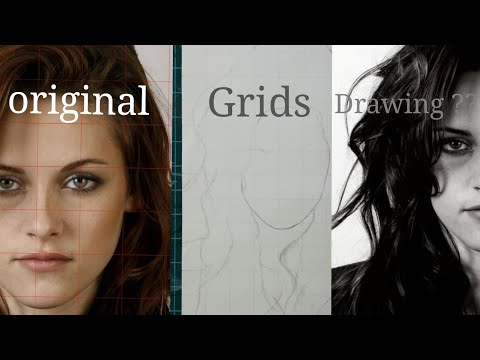 Grid drawing method (drawing grids using an Android smartphone)part 3