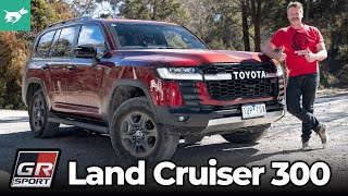 Toyota Land Cruiser 300 Series 2022 review | GX to GR Sport & Sahara ZX fully tested | Chasing Cars
