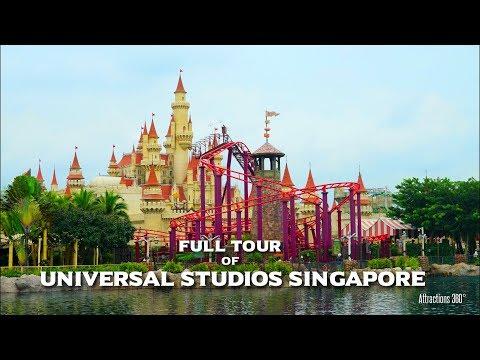 [HD] Universal Studios Singapore Tour – Universal Studios Theme Park