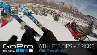 GoPro Athlete Tips and Tricks: Helmet Mounting and GoPro App with Tom Wallisch (Ep 4)