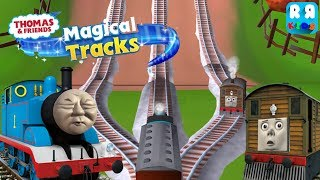 Thomas meet Toby in Haunted Castle | Thomas and Friends: Magical Tracks - Kids Train Set