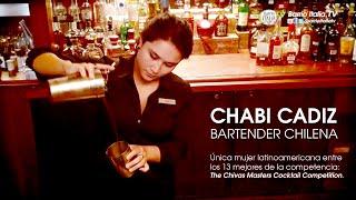 Bartender CHABI CADIZ representó a Chile en CHIVAS MASTERS COMPETITION
