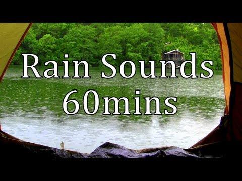 •· Free Watch Rain on a Tent by a Lake