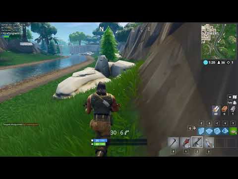 Testing Fortnite Battle Royale on Arch Linux with Lutris, Wine, DXVK