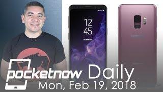 Samsung Galaxy S9 comprehensive details, LG G7 Judy & more - Pocketnow Daily