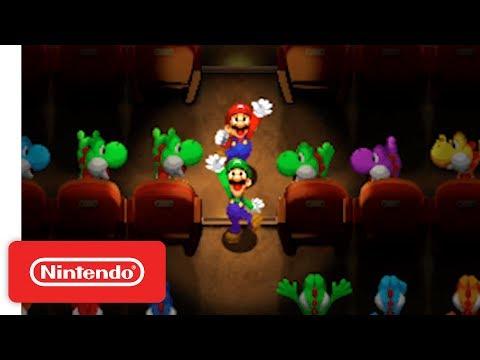 Mario & Luigi Superstar Saga + Bowser's Minions - Game Reveal - Nintendo E3 2017 thumbnail