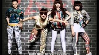 2NE1 Say Goodbye Clean Studio Version HQ   YouTube
