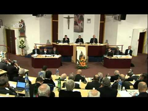 Assemblée des évêques - Séance d'ouverture (automne 2013)