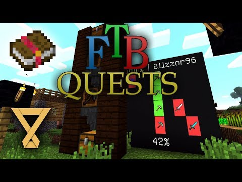 FTB Quests - Mod Spotlight [Tutorial] [Deutsch] [German]