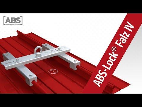 Kompakte Video-Präsentation zum Sekuranten ABS-Lock Falz IV (Rundbördel).