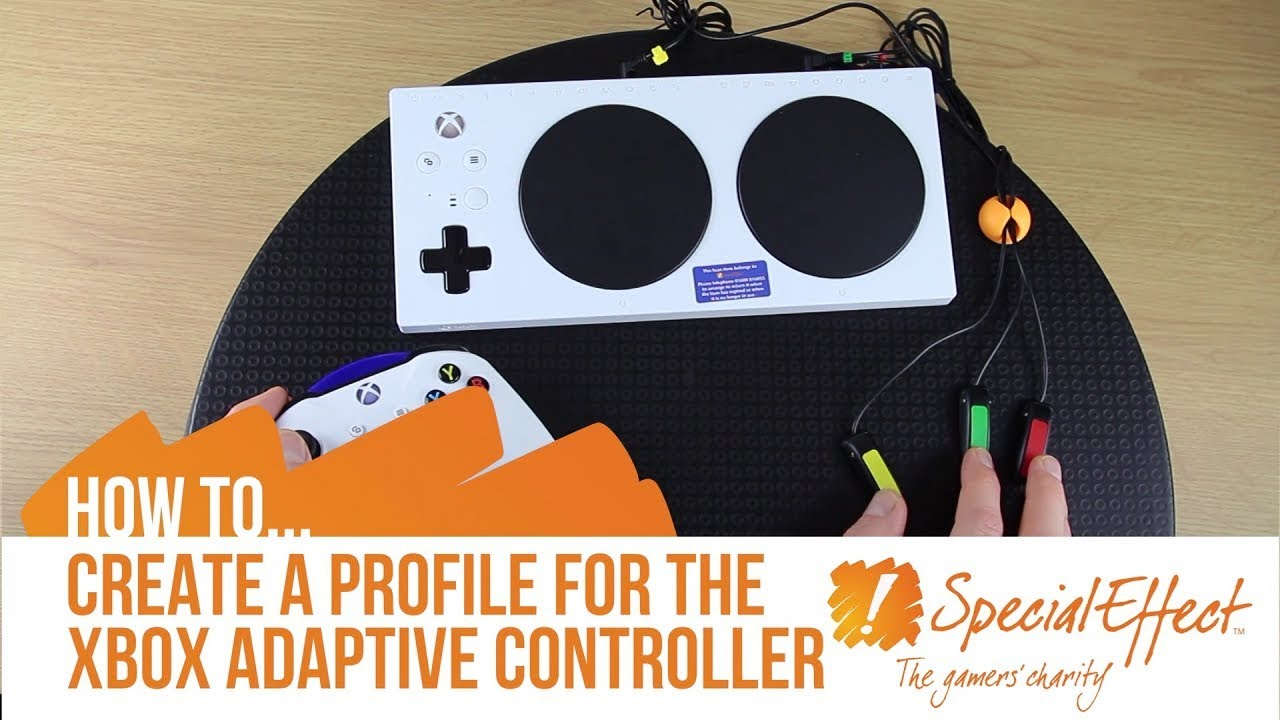 video placeholder for How to Create a Profile for the Xbox Adaptive Controller