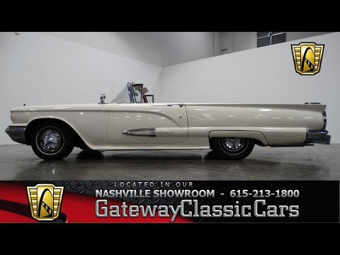 Video of 1959 Thunderbird located in La Vergne Tennessee - $28,595.00 - MN60