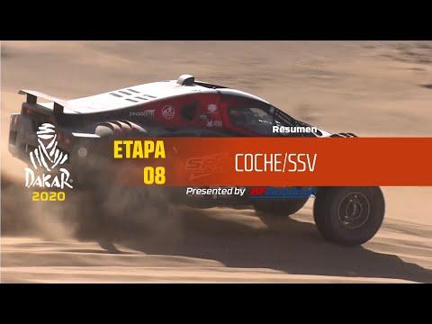 Dakar 2020/ Etapa 8 - resumen autos/ssv
