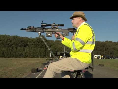 Idleback Chair works at Bisley ranges