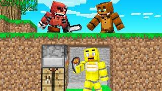 Five Nights At Freddy's Manhunt In Minecraft!