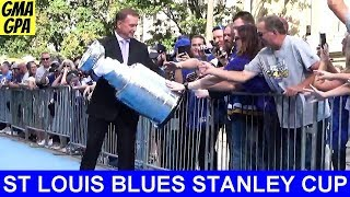 St. Louis Blues Opening Day Blue Carpet Event For The 2019 Stanley Cup Champions! Meet The Team!