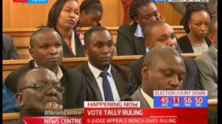 The court of Appeal in session to give a landmark ruling today