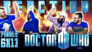 Doctor Who 6x13 REACTION!! The Wedding Of River Song