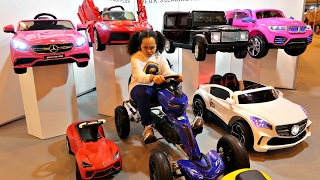 Power Wheels Ride On Cars Collection - Surprise Toys For Kids - Spring Fair 2017