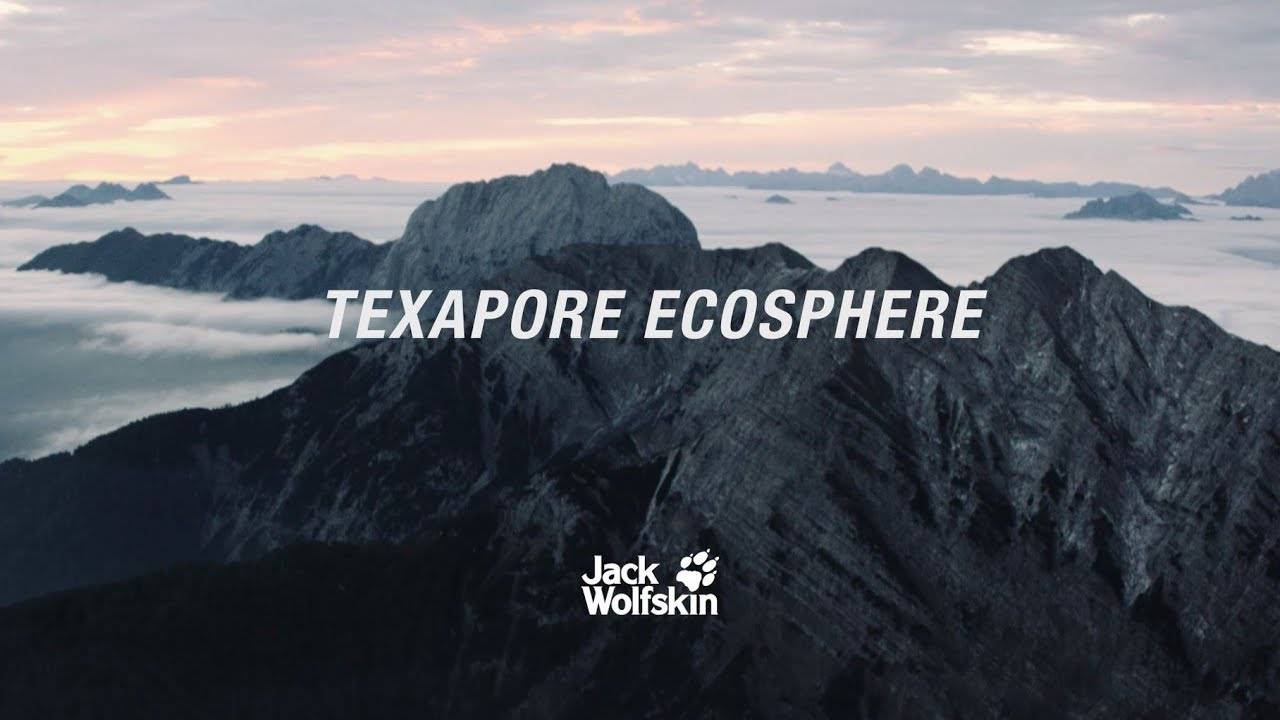 TEXAPORE ECOSPHERE: The first 100 % recycled* weather protection