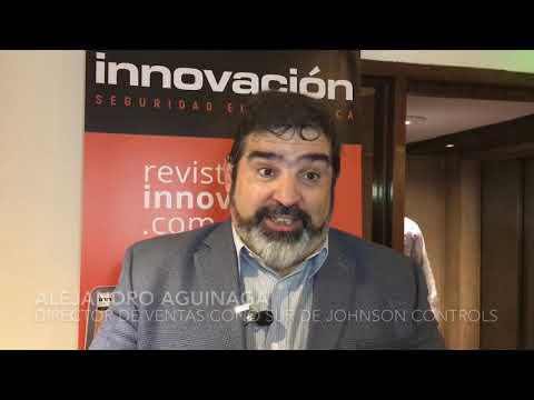 Alejandro Aguinaga Director de Ventas Cono Sur de Johnson Controls en el Encuentro Tecnológico ALAS Buenos Aires 2019