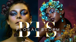 MY FIRST BEAUTY EDITORIAL SHOOT! Floral Storm For Lucys Magazine