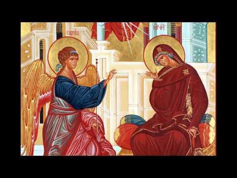 Акафист Благовещения Пресвятой Богородицы Читает схиигумен Илий Ноздрин 2006