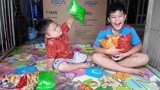 Đồ Chơi Trẻ Em Bé Pin Chia Đều Bim Bim  ❤ PinPin TV ❤