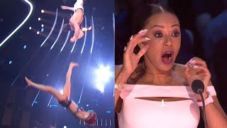 Woman Falls During Trapeze Routine On 'AGT'