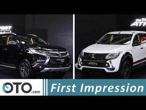 Mitsubishi Triton Athlete & Pajero Sport Rockford Fosgate | First Impression | IIMS 2018 | OTO.com